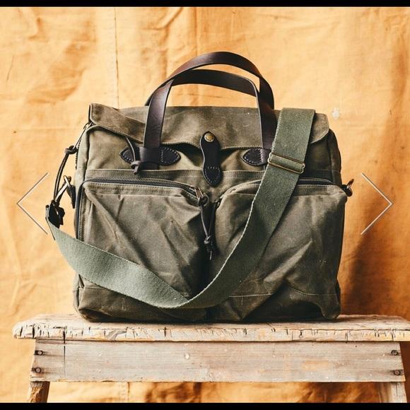 Filson Other - Filson 24-hr Tin Brief Case (Otter Green)